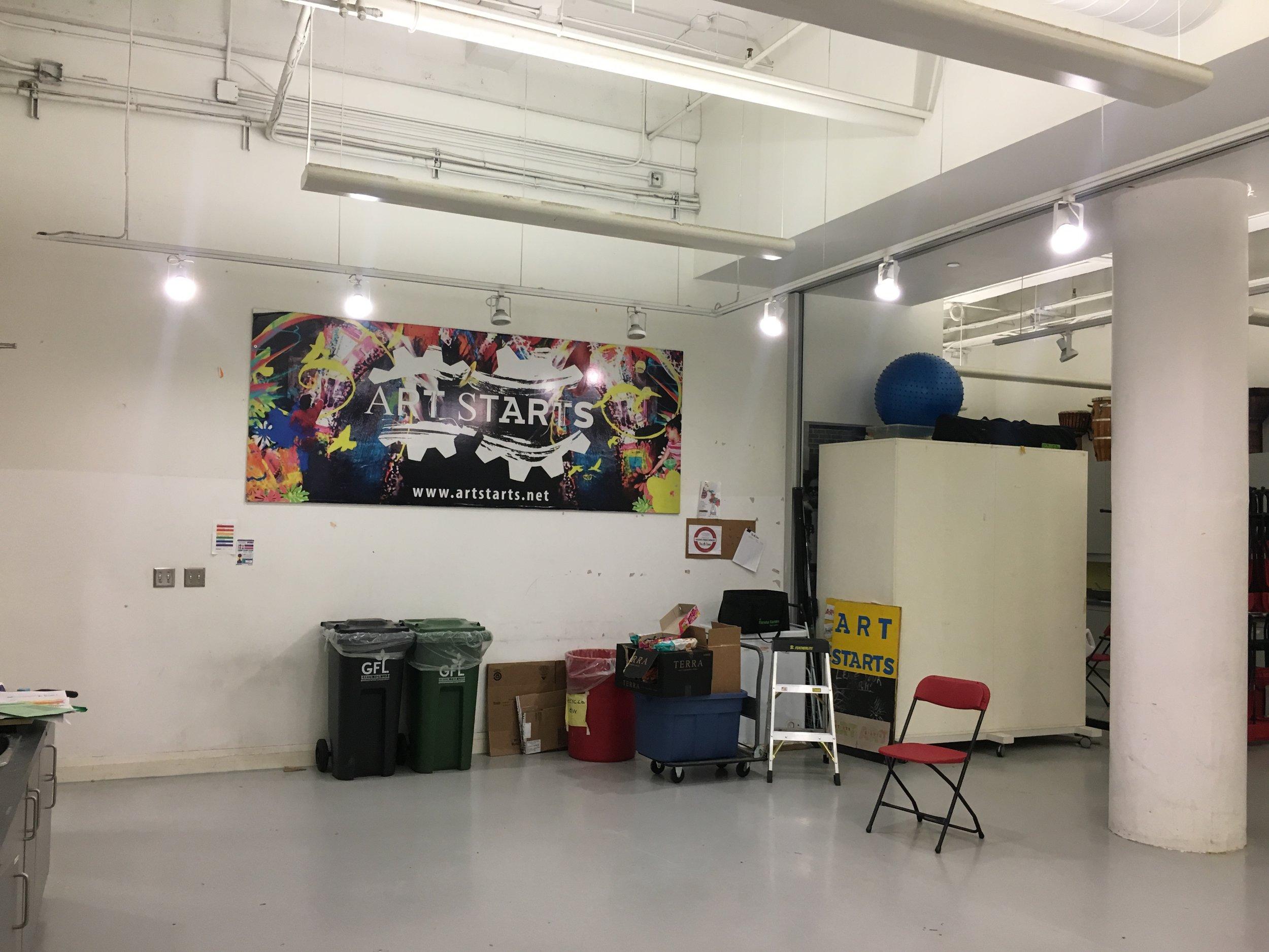 Copy of Art Starts, Toronto. Before