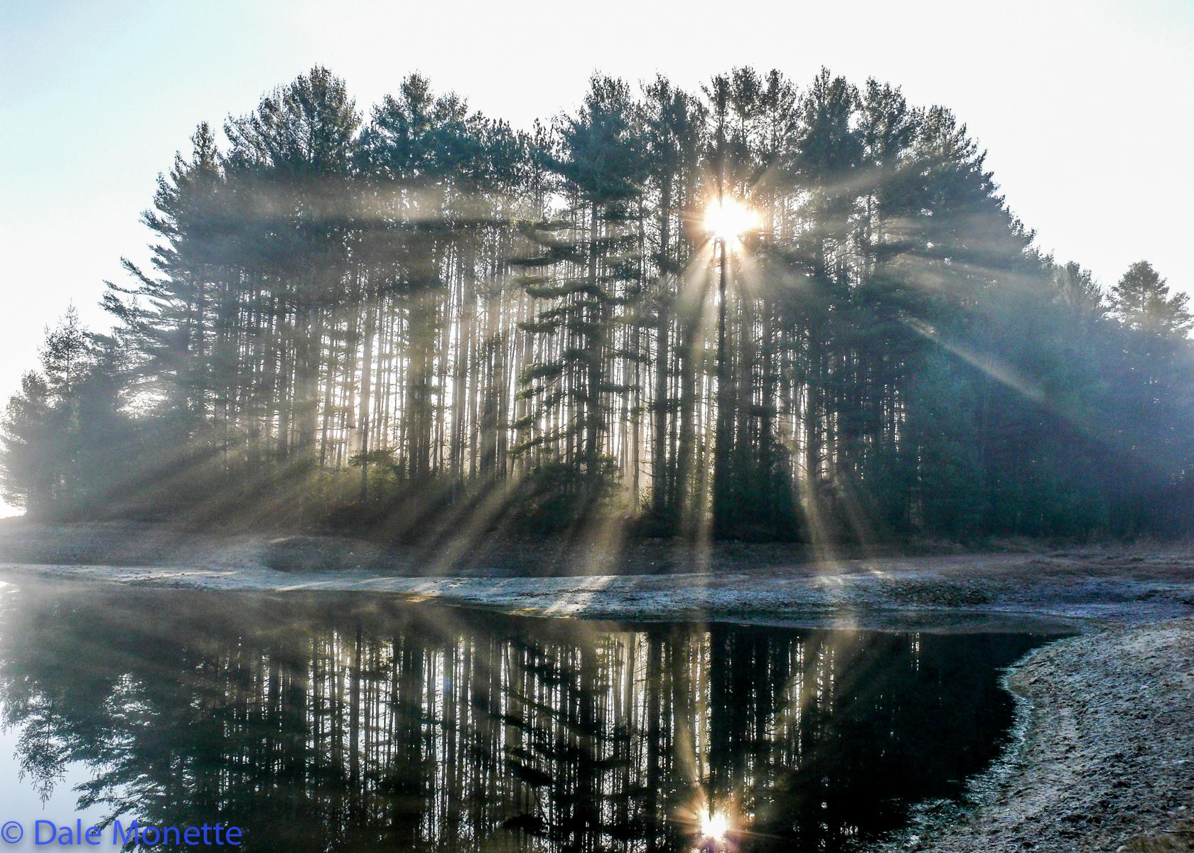 North Dana Sunrise, late fall