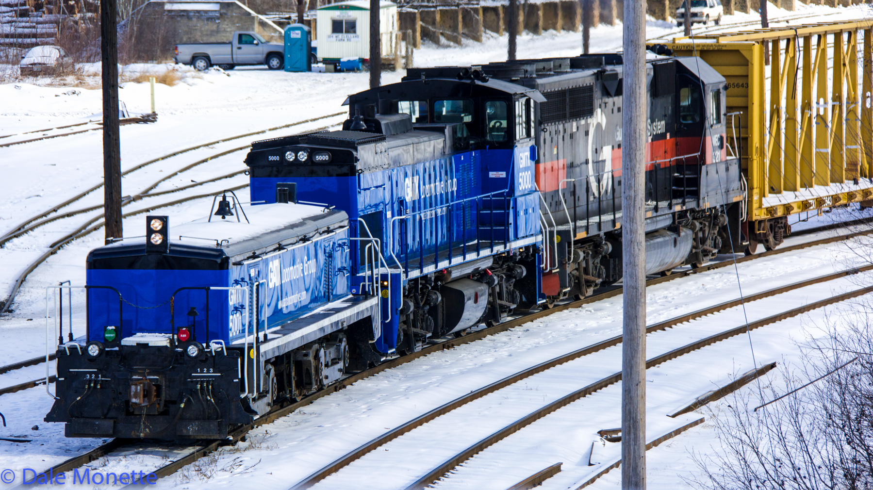 Pan Am RR, East Deerfield Yard, East Deerfield MA 1/15