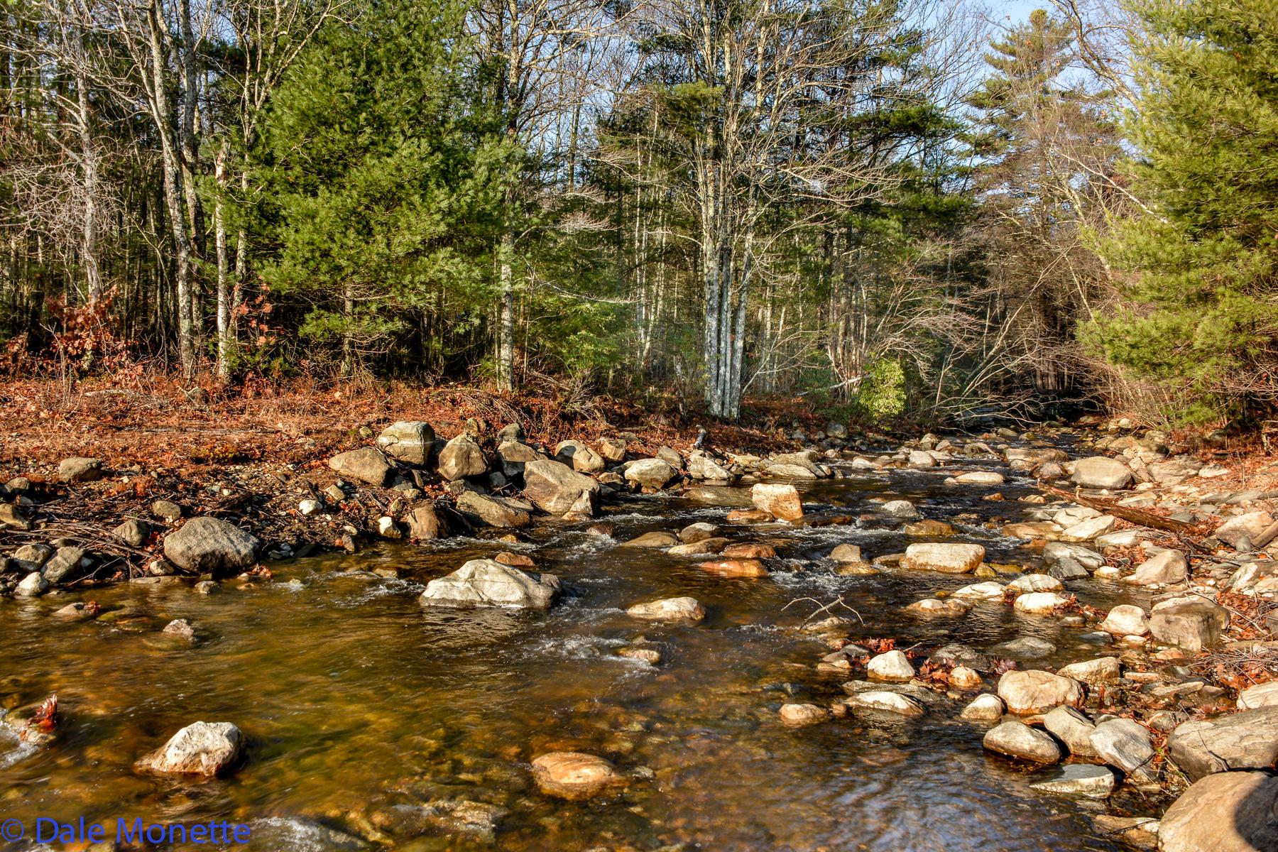 Hop Brook flowing into the Quabbin