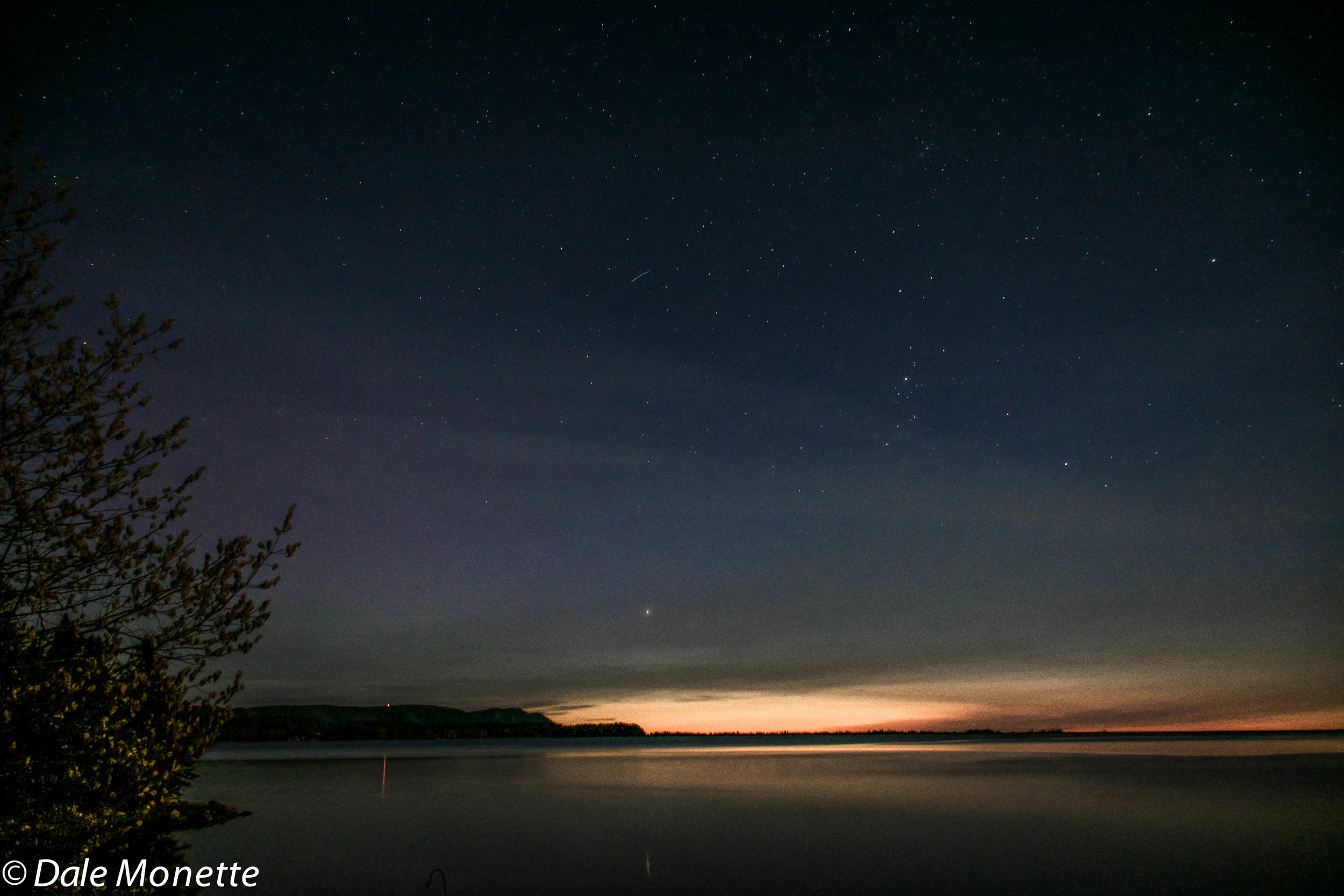 Night shot Cape Breton