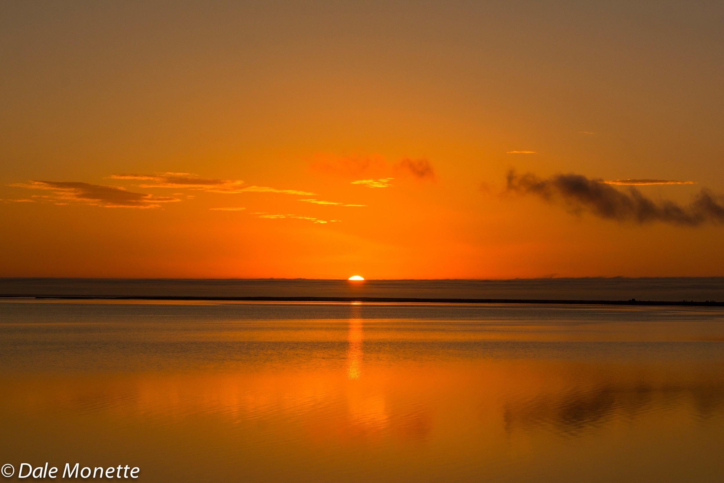 Sunrise, Aspy Bay, Cape Breton Island, Nova Scotia.  6/8/15
