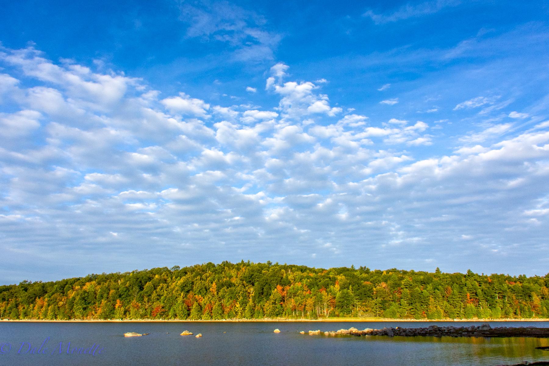 Early fall day at Quabbin, October 4th, 2015, Moore Island.