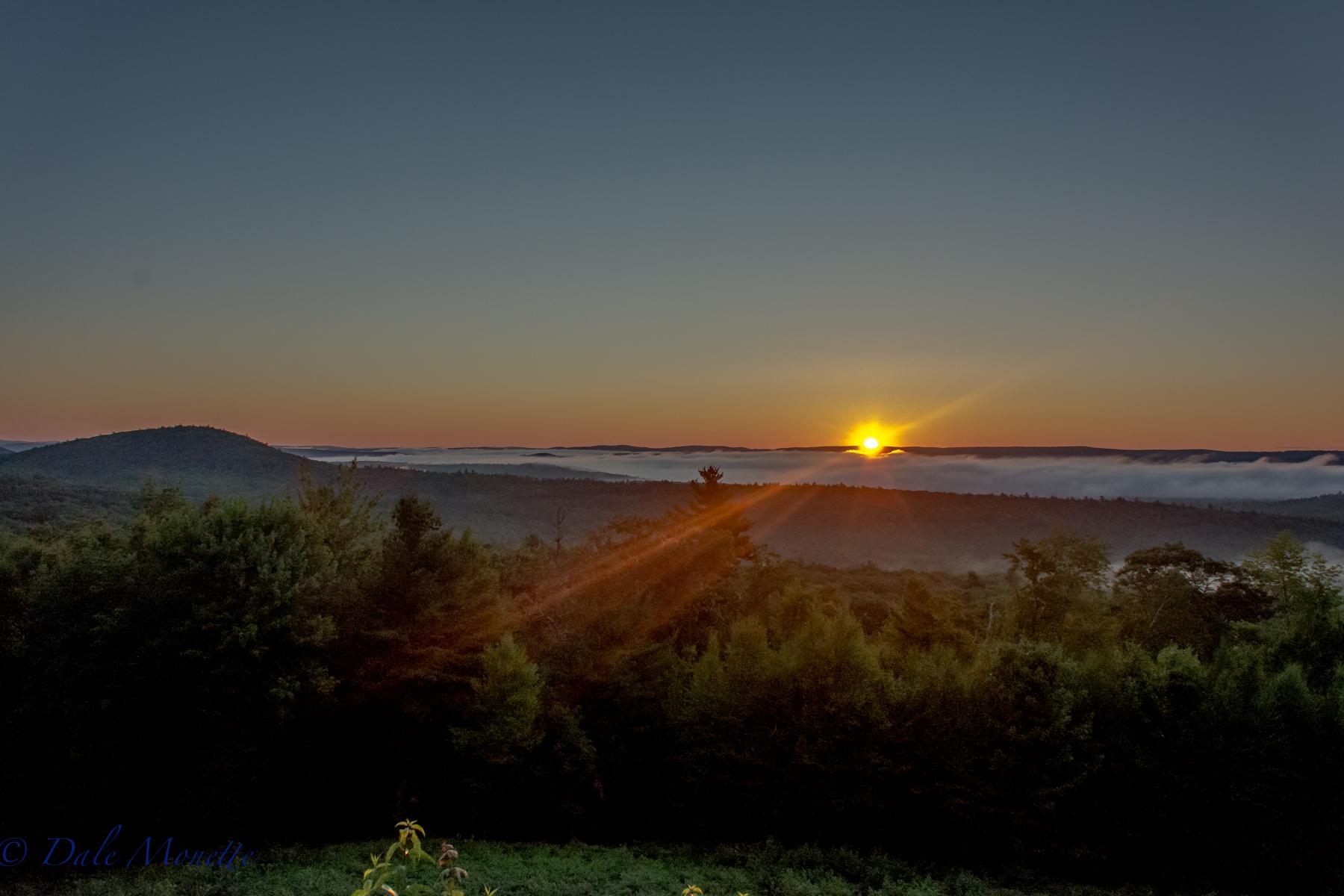 Sunrise, New Salem, MA. North Quabbin...  7/24/16