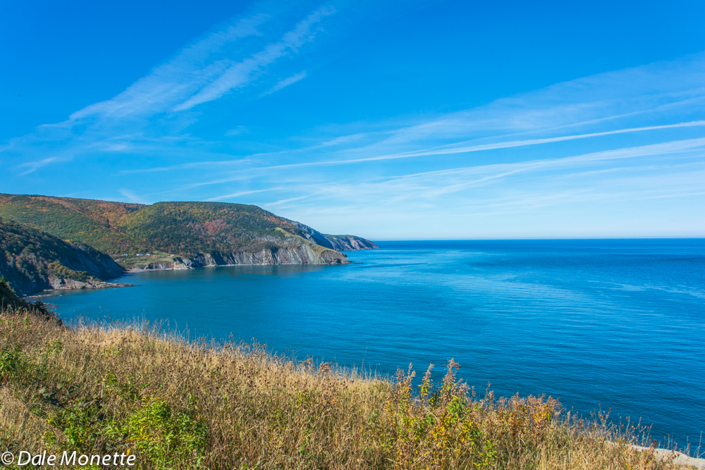 Meat Cove, the northern most village on Cape Breton.  Today was a fabulous day to be out and about on the Island.