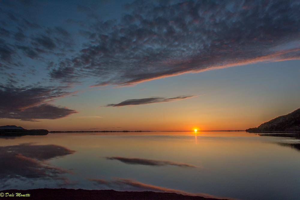 Sunrise 6/8/17 South Harbor, Cape Breton, NS Canada