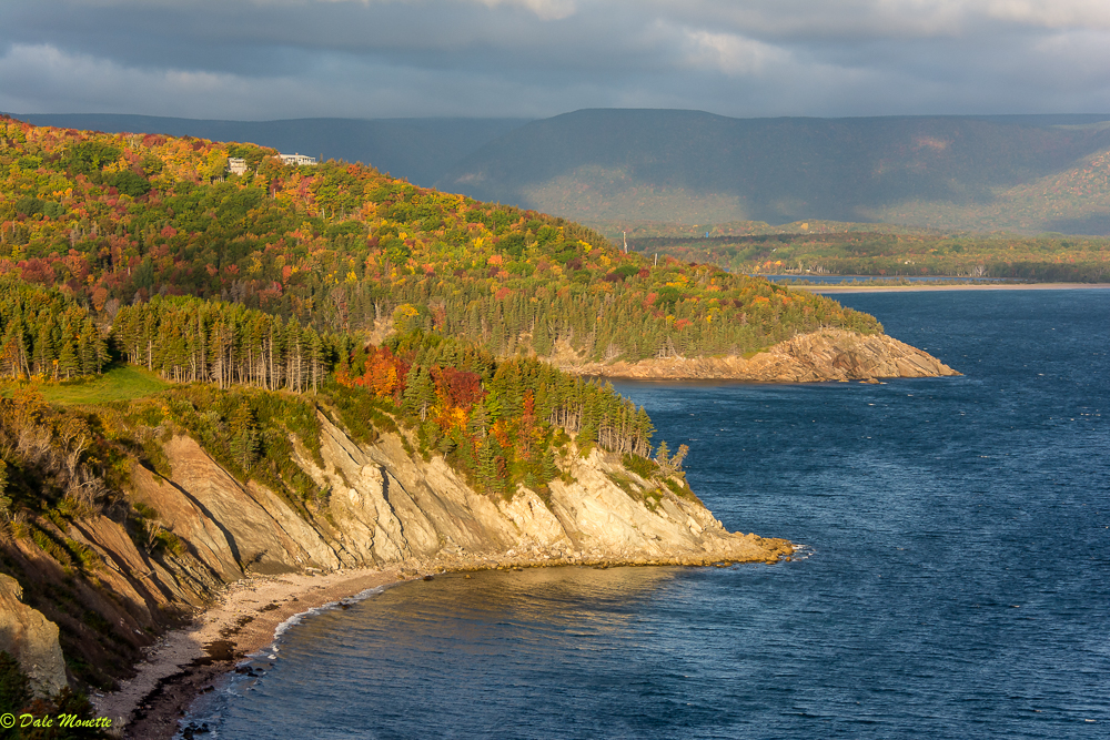 Early morning sun lighting up Aspy Bay, Cape Breton Island, Nova Scotia Canada 10/9/17