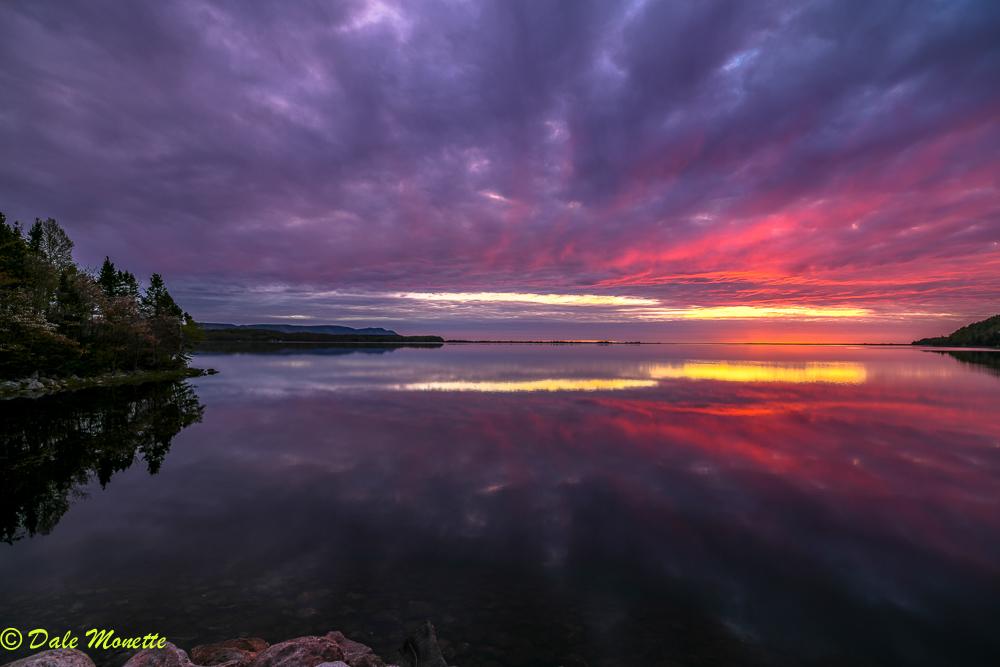 Cape Breton Island, South Harbor sunrise. 6/5/18