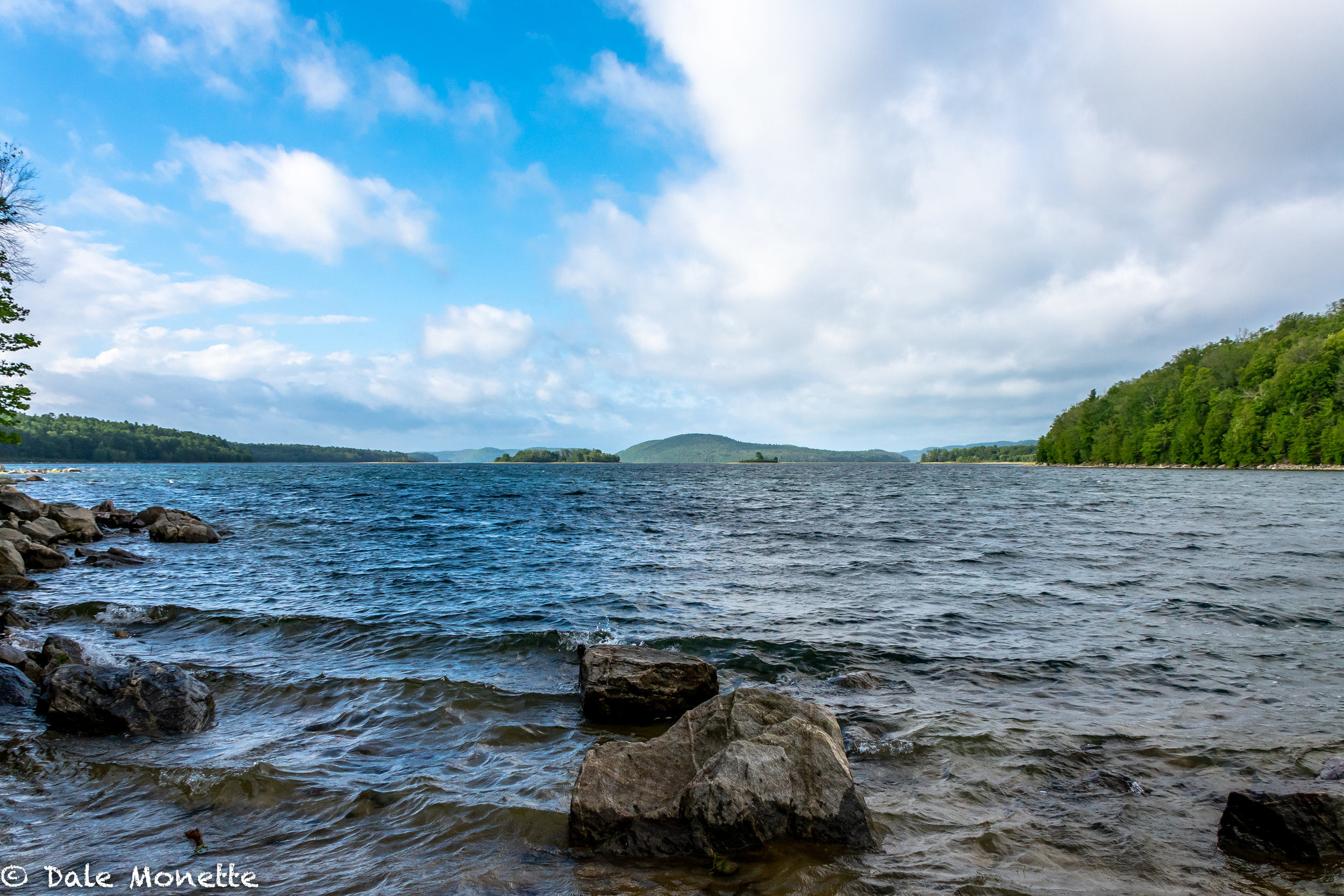 A great day at the Quabbin, although a bit windy, it kept the bugs away!