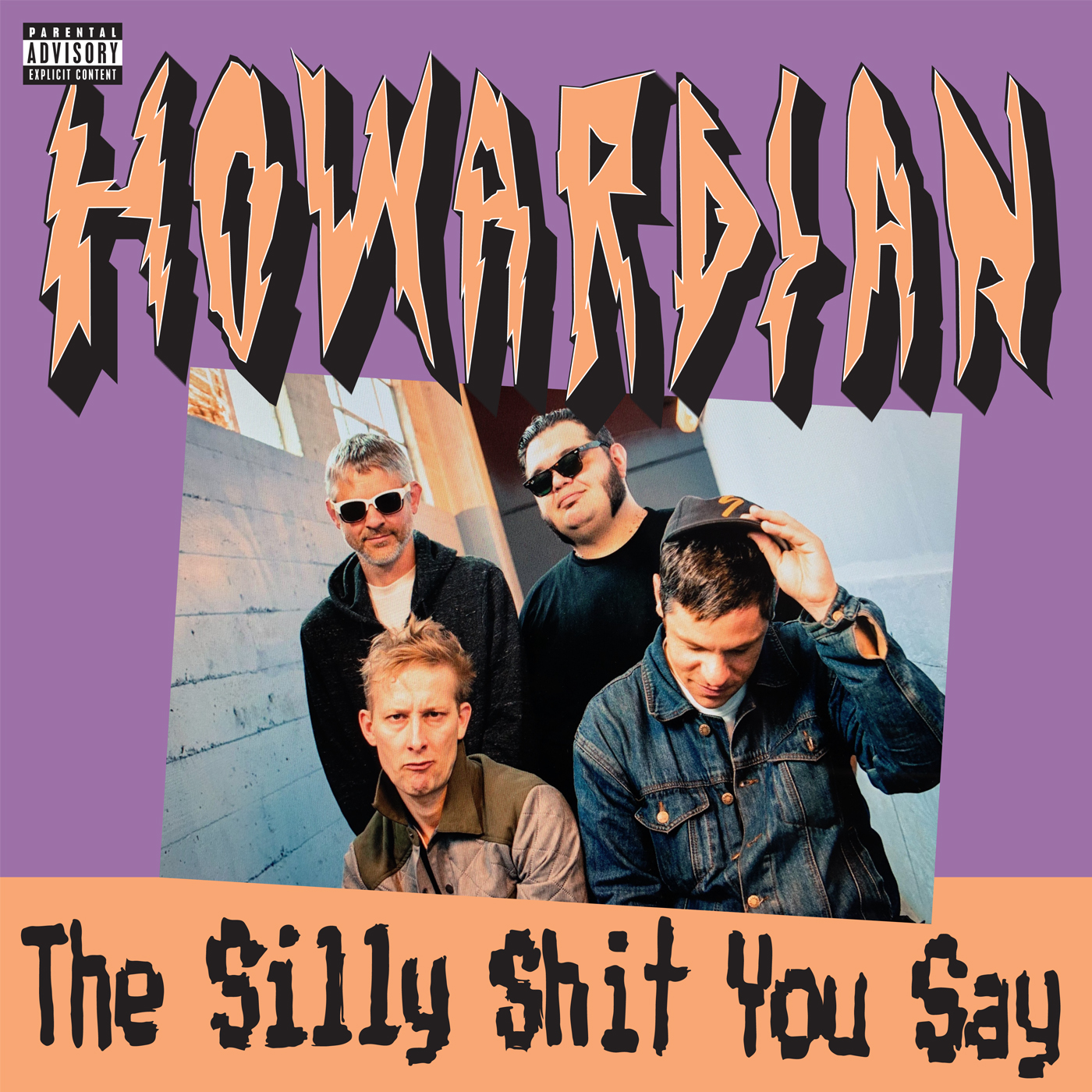 HOWARDIAN 'The Silly Shit You Say' OUT NOW ON LP/ TAPE ( SPLIT RELEASE WITH STAR CLEANER RECORDS)   Howardian's strange Punk / Hip Hop collective energy has been getting sharper as the project progresses. Their 7th release in five years, THE SILLY SHIT YOU SAY, is simultaneously fresh and unique punk music. The producer Damion Gallegos (The Coup, Sorry To Bother You) at CHUb studio in Oakland, CA provides a wide groove for the collective to sparkle on. Mike Tucci, who mastered the album, cleaned and boosted the songs with his great ears. Somber pop punk tones underpin a large bottom end and synths wiggles blend with odd guitars. Ten songs that hang well as a group and a few singles you'll never get outta yer head.    200 pressed on black vinyl and comes with a zine, sticker and download code! Ships 3/15!