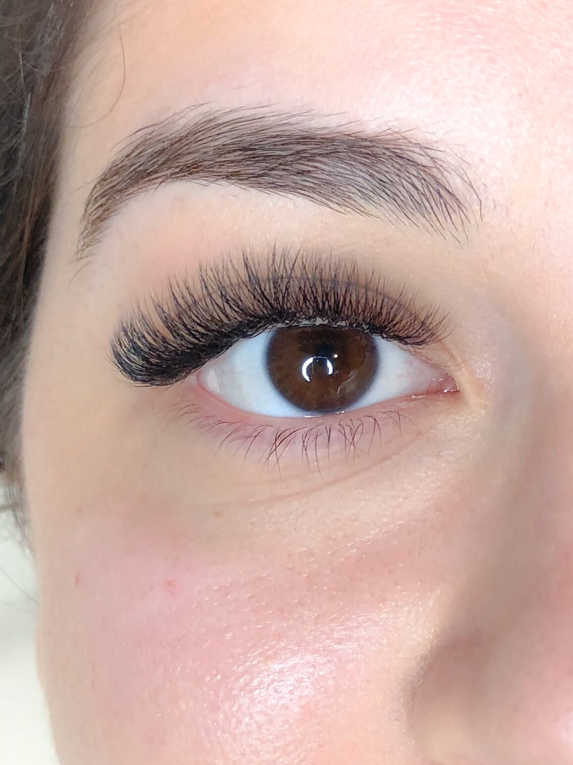 Looking for a dark lash-line? Then Eyelash Extensions are the choice for you.
