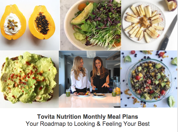tovita monthly meal plans