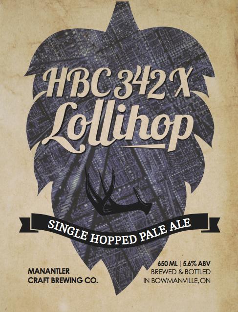 HBC 342X Lollihop Pale Ale