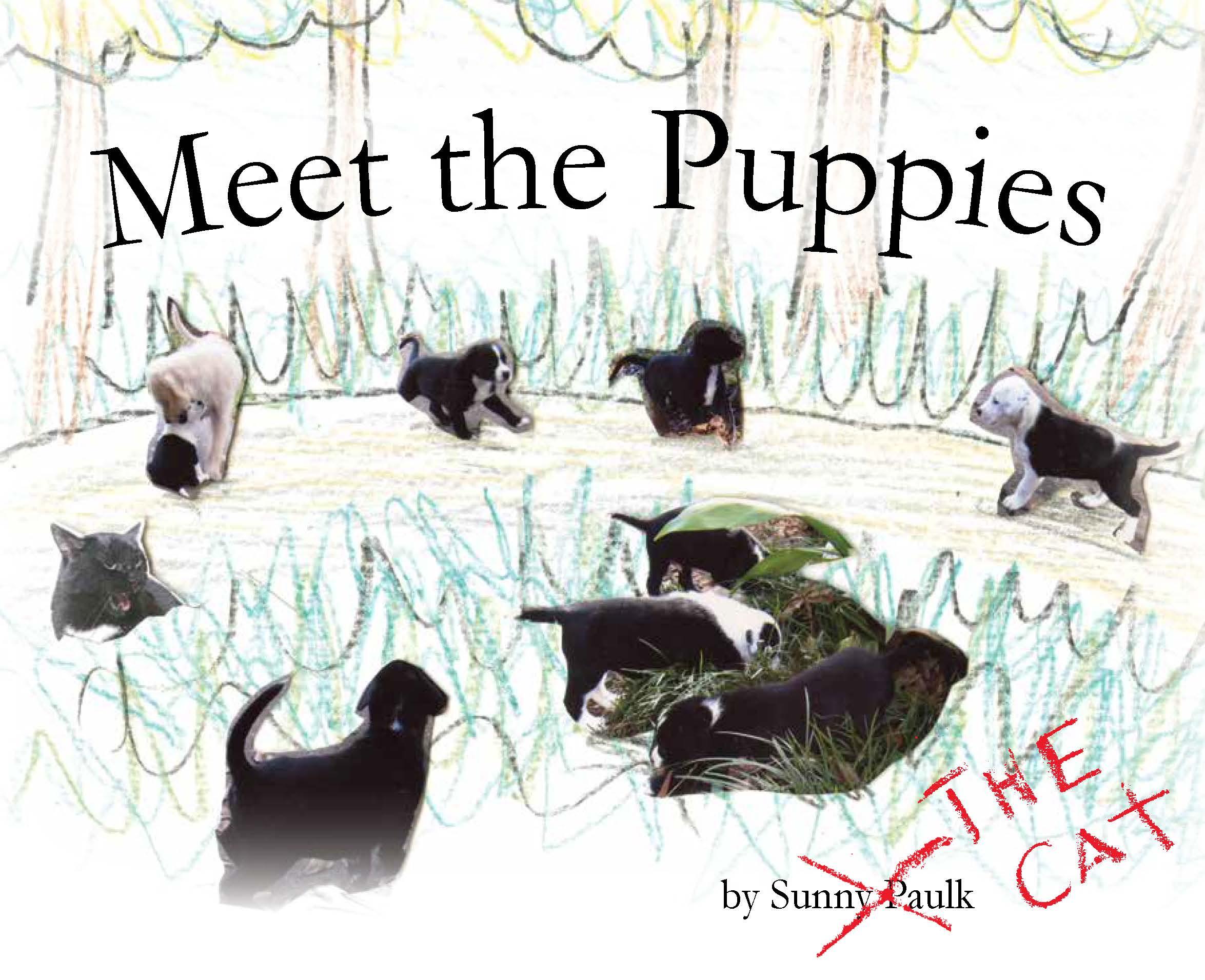 """Meet the Puppies"" book, 2011."