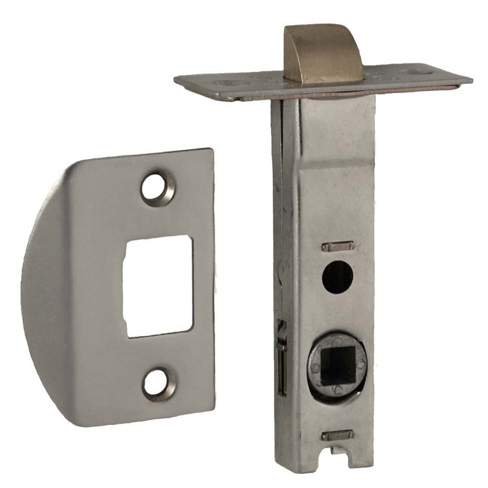 Latch – 60mm – Brushed Chrome (Nidus)