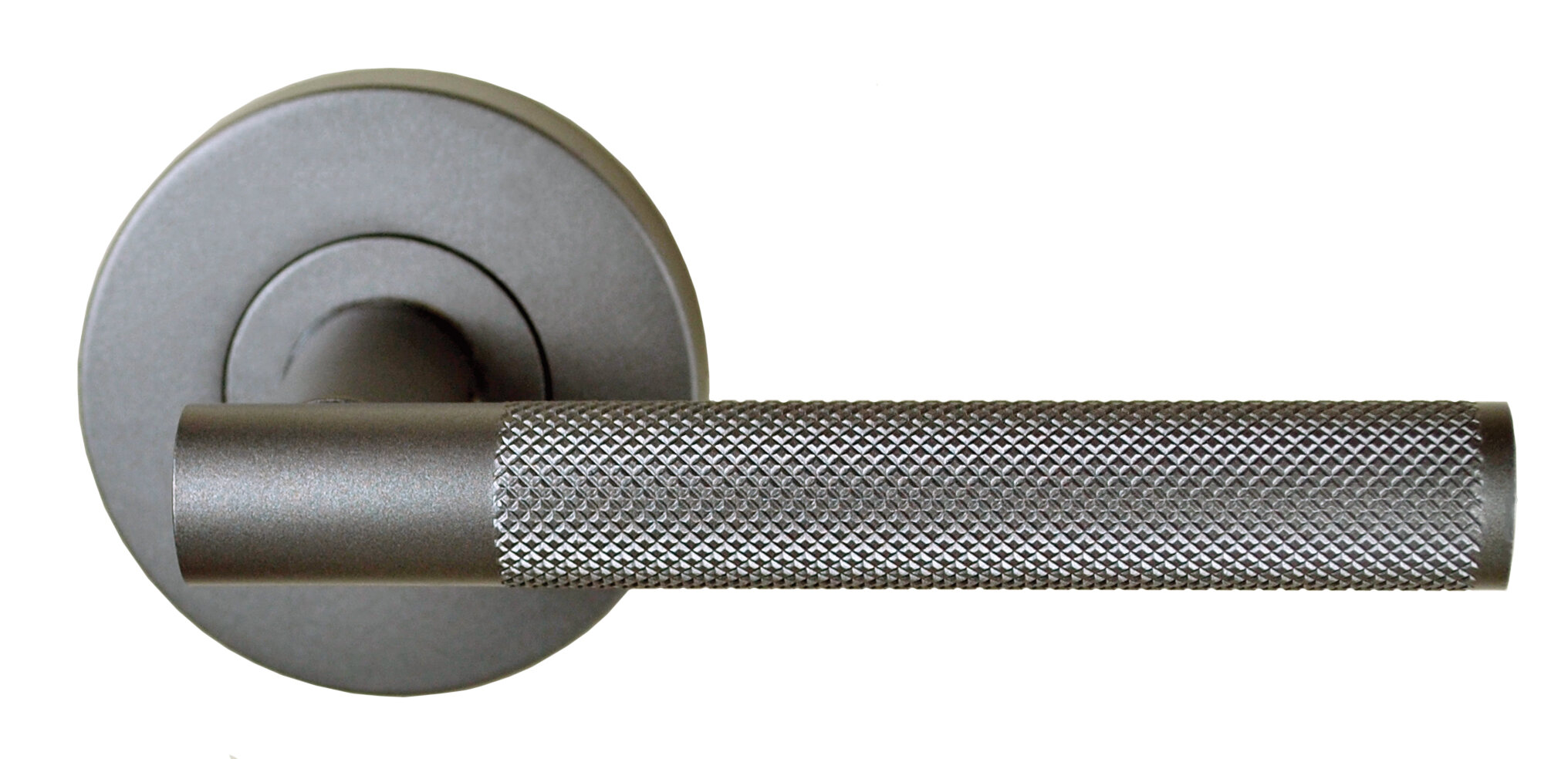 Knurled Domici – Passage Set – Gunmetal Grey
