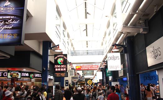 Inside the sydney fish markets