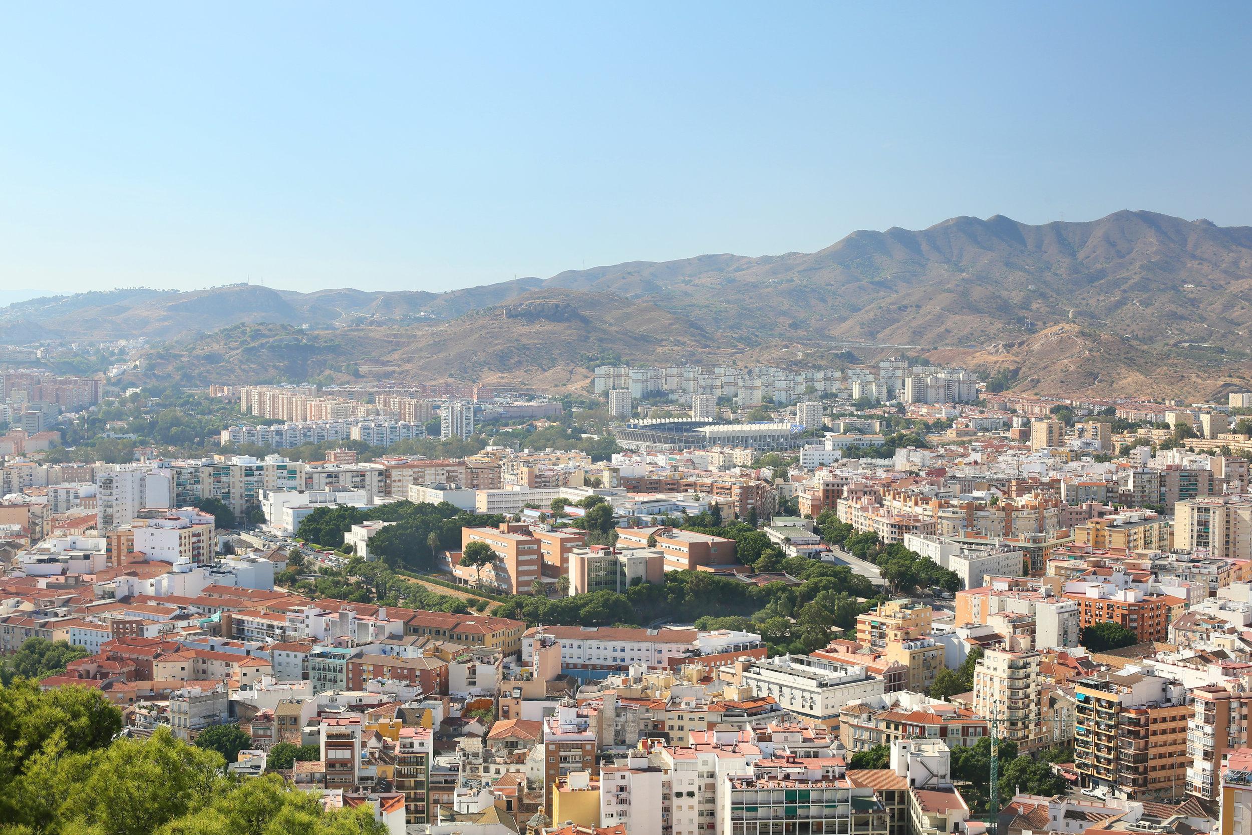 Views from the Gibralfaro