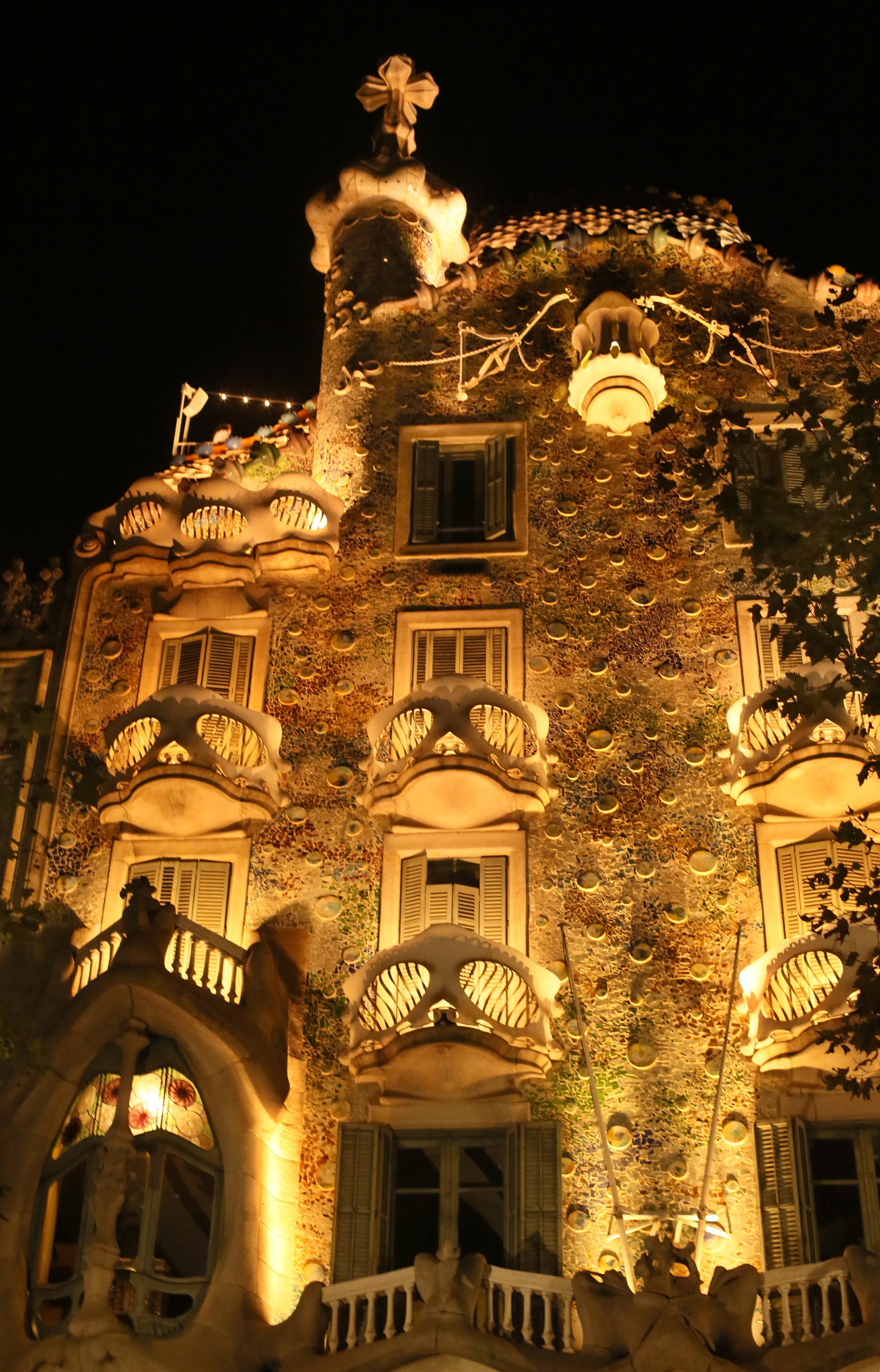 Antonio Gaudí's Casa Batlló