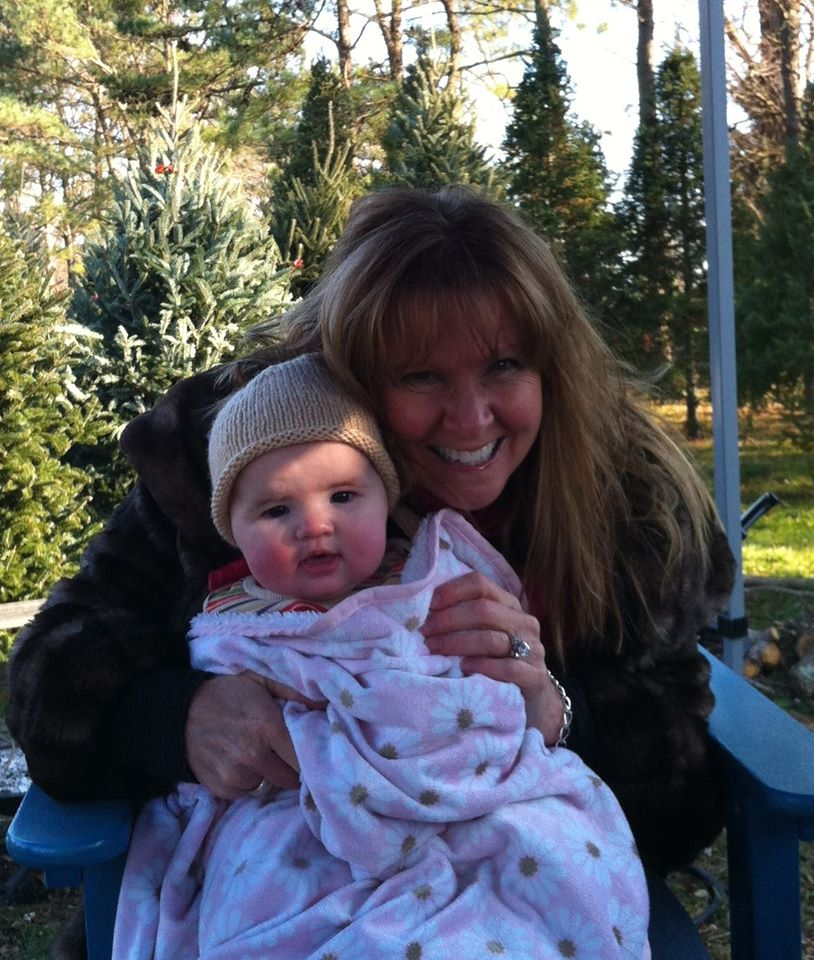 Brooke and I at Environmental Evergreens Farm in Maryland (November, 2012)