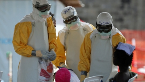 Physicians in Liberia during the Ebola epidemic courtesy of www.cbc.ca