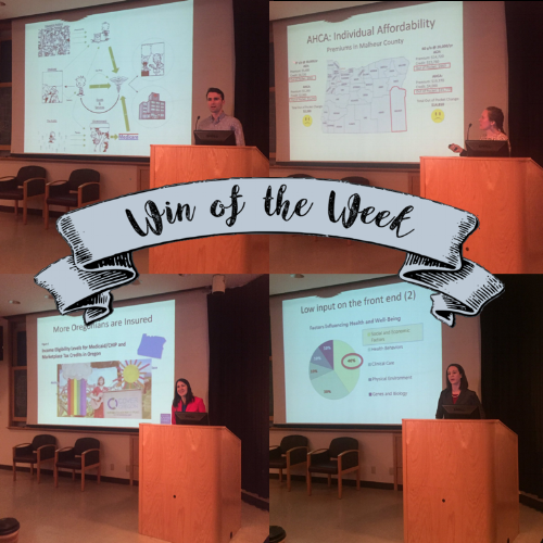 What was your residency win of the week?  Submit to  medchiefs@ohsu.edu