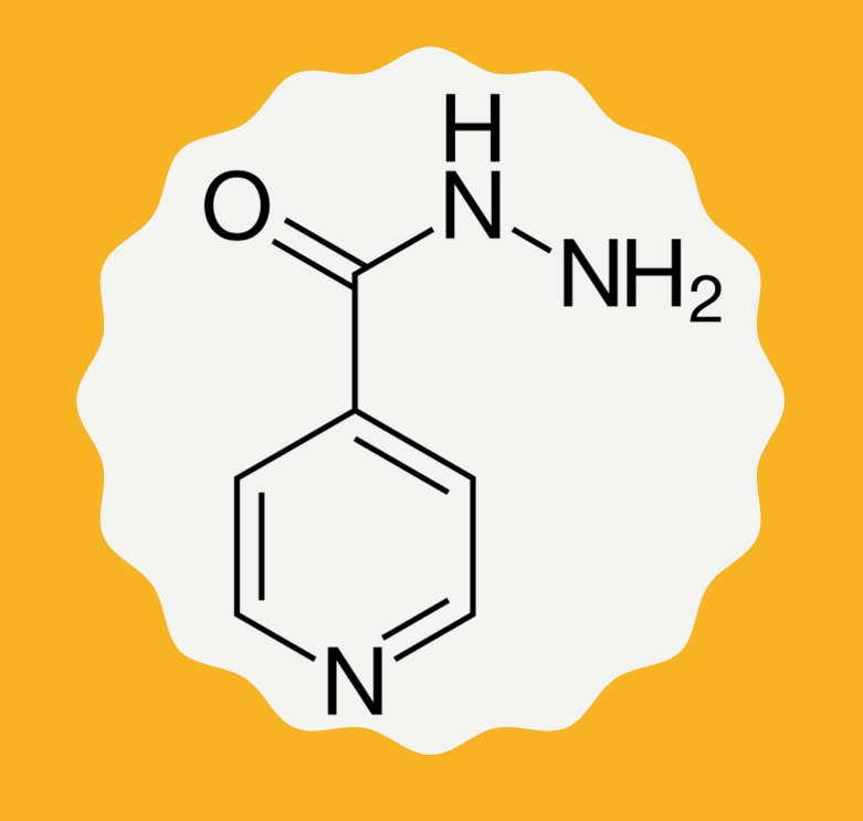 Isoniazid a.k.a. Isonicotinylhydrazide (INH)