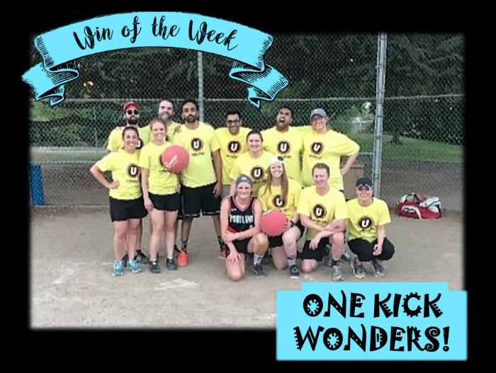 These residents are truly 'Out of Hospital, Unavailable'! Congratulations to the One Kick Wonders who won their first game of the season this week!
