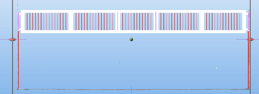 Front view of Truss using the limit box extraction tool