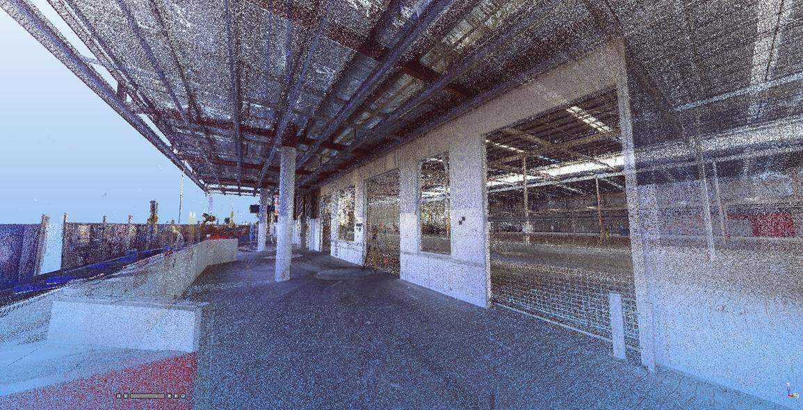 Warehouse Entrance scan