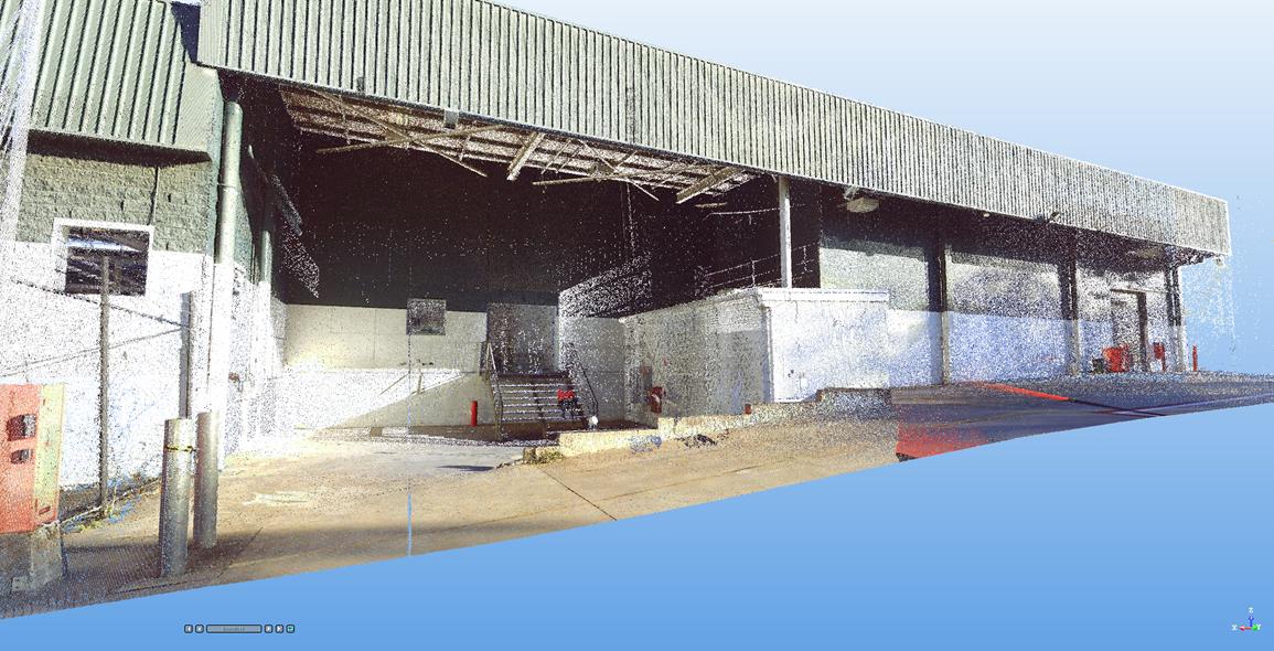 Rear Loading Bay scan