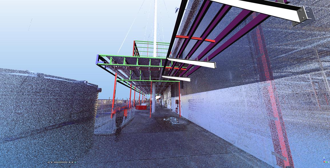 Main entrance & canopy