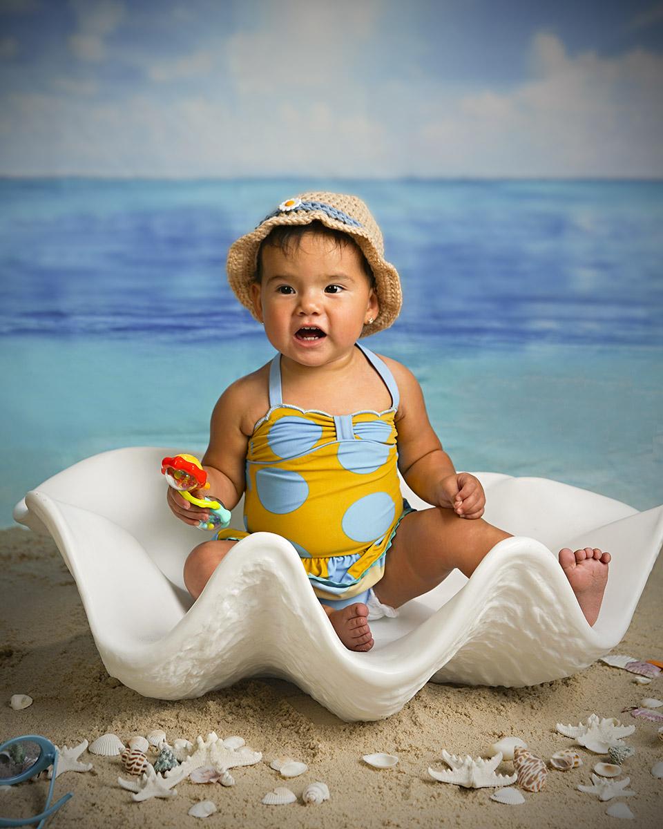 A Beach Babe!