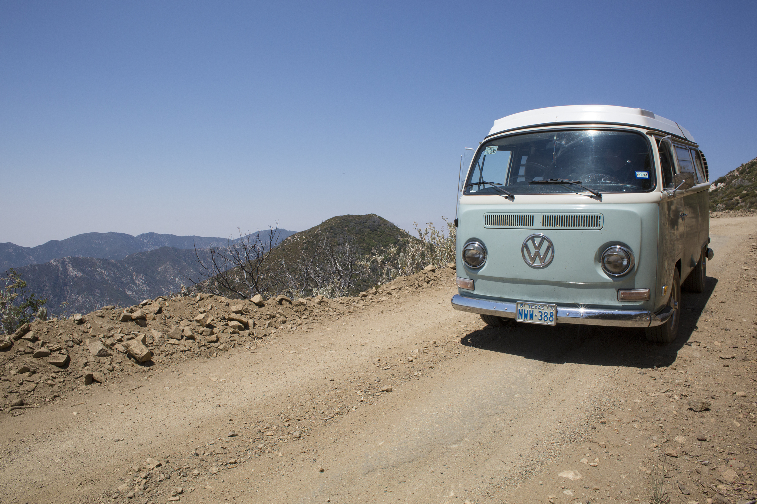 Bus Travels. VW Community. Freedom and Adventure.