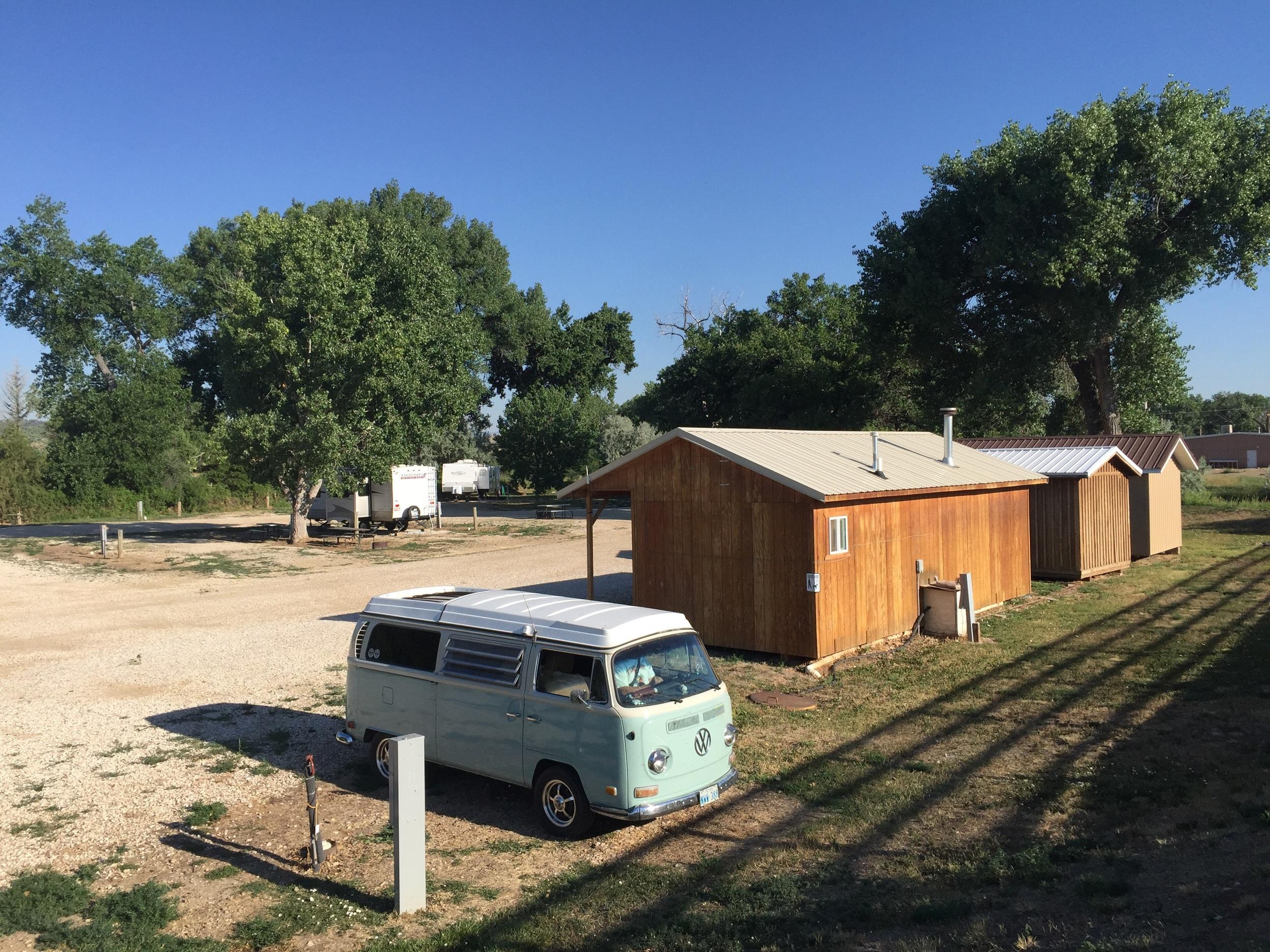 Powder Creek Campground, Casper Wy
