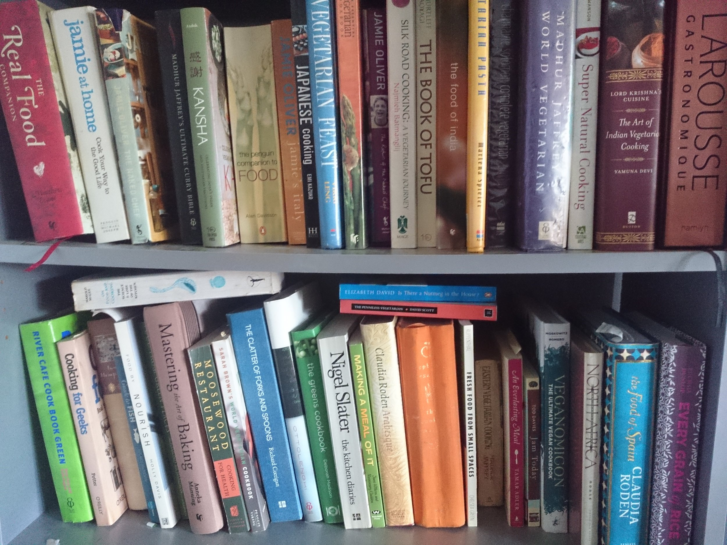 My cookery books