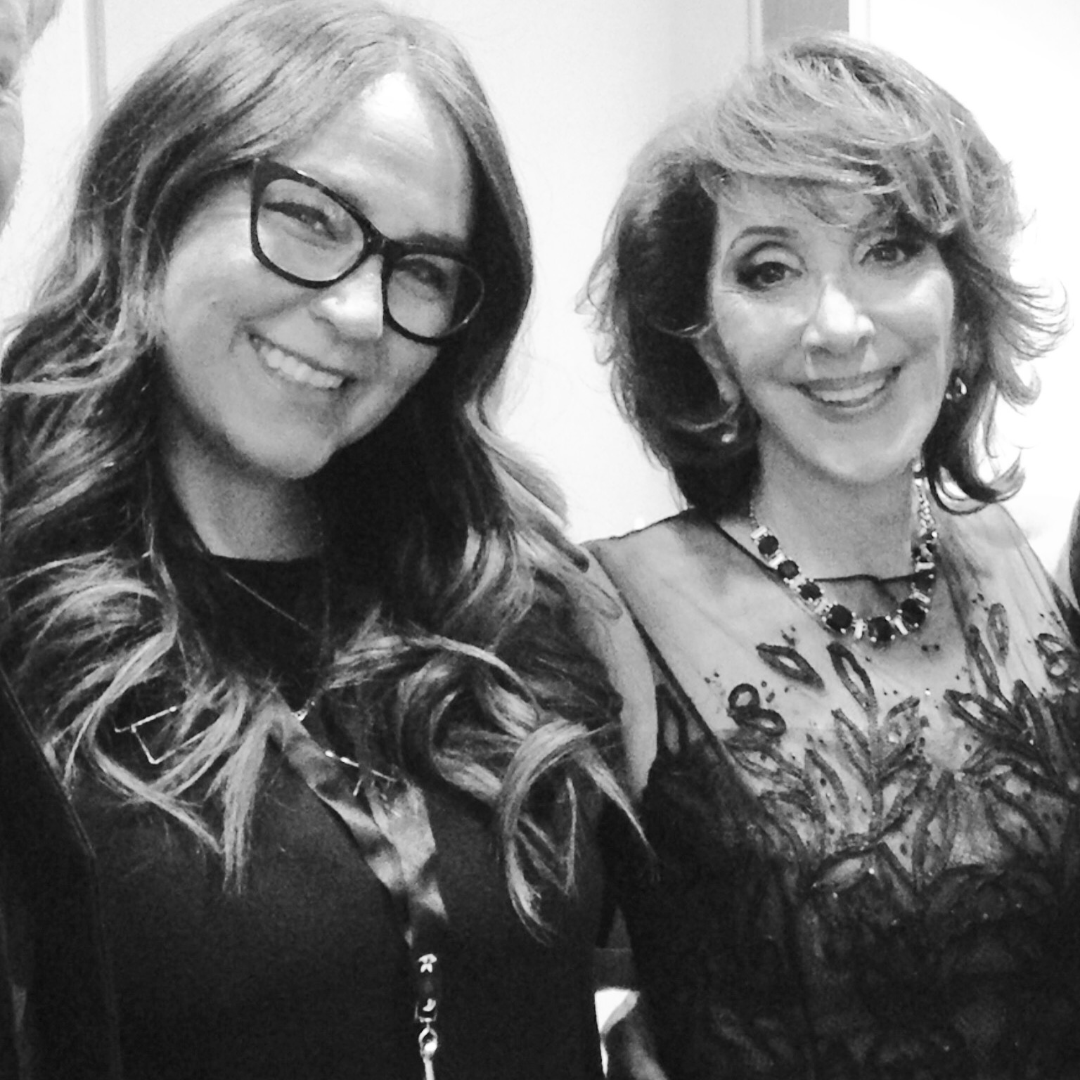 With Andrea Martin