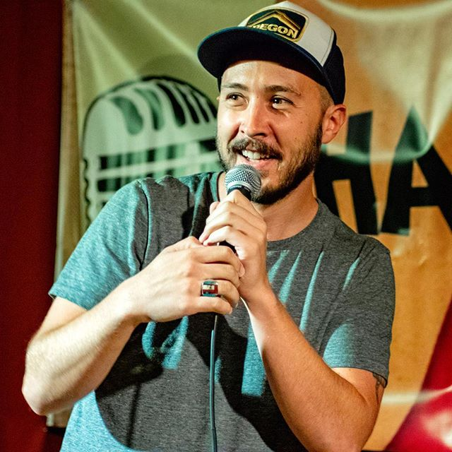 @robertzoref making up a whole new set off topics in a bucket at Challenge Mic @copperstillbar. Tonight and every wednesday at 8pm. 📸: @justericson . . . #openmic #openmiclife #openmicgrind #standup #standupcomedy #comedian #openmicers #laopenmics #comedy #comedians #comics #wednesdaymics #comedyopenmic #standupcomic #challengemic #comedyopenmic #setlist