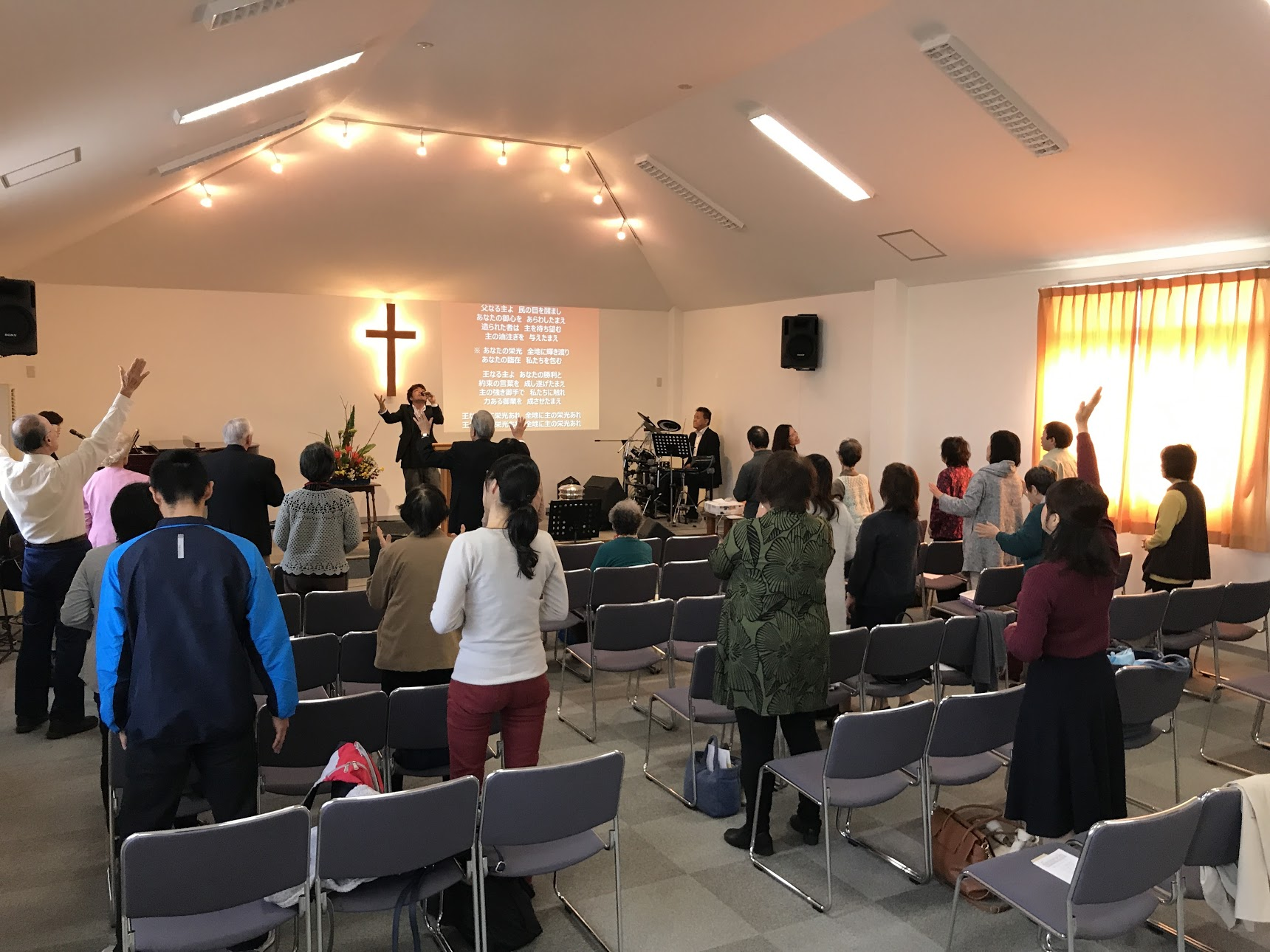 Bethel Riverside Chapel in Tsu, Japan! All of the churches I've visited so far are Next Towns churches. Next Towns was pioneered by John & Ruth Bell and continued by Archie & Verna Alderson.