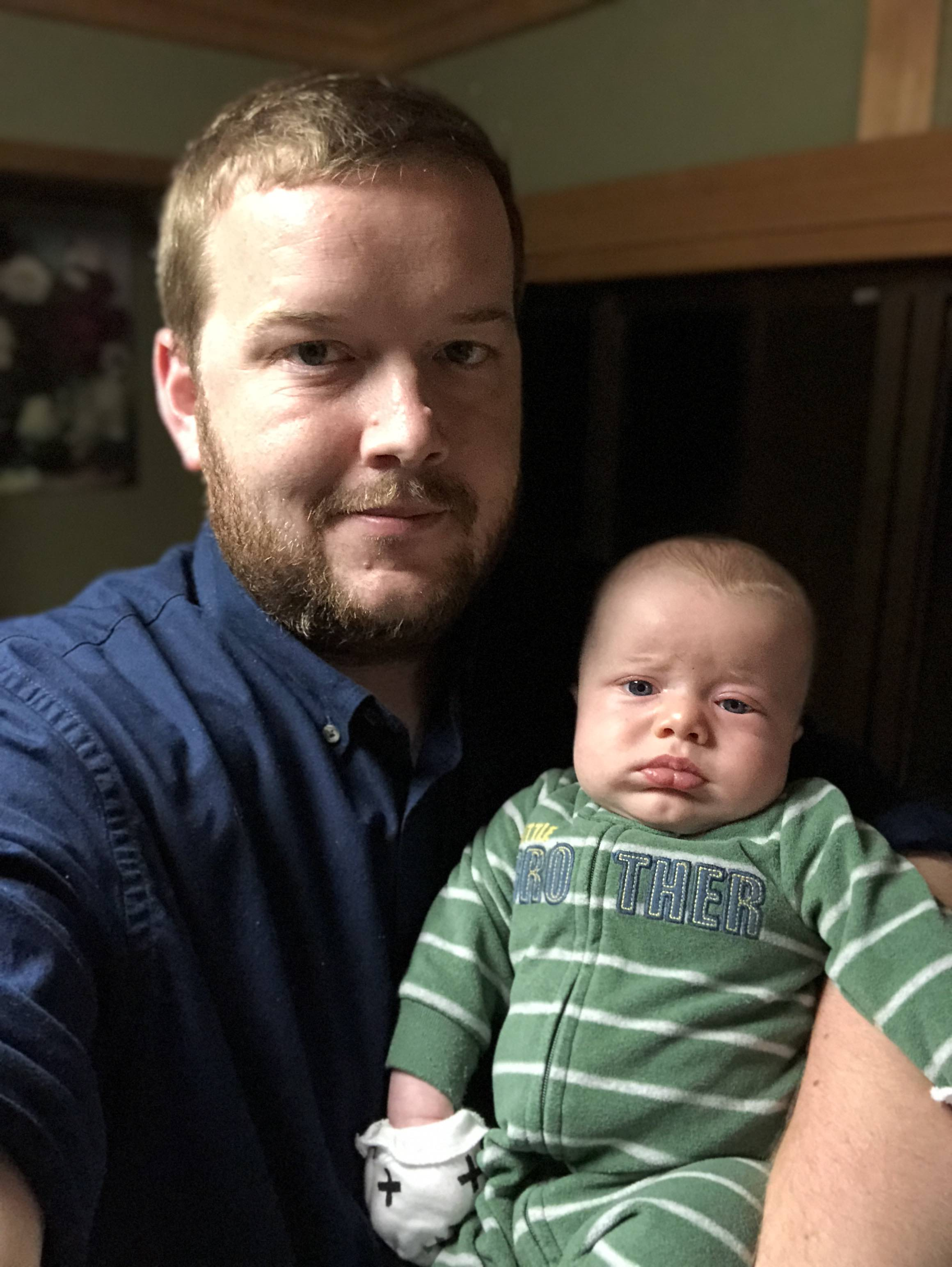 Robert Abbott Sayre has no idea he's in Japan. He's 11 weeks old this week!