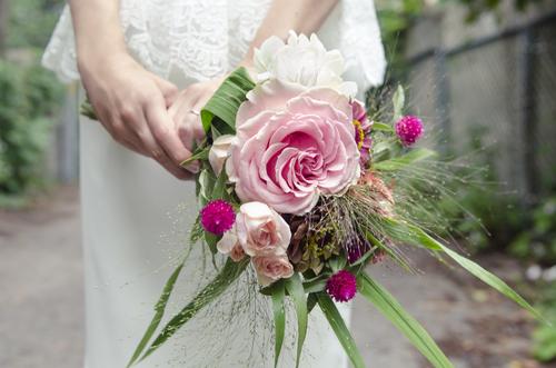Bridal bouquet, Montreal.