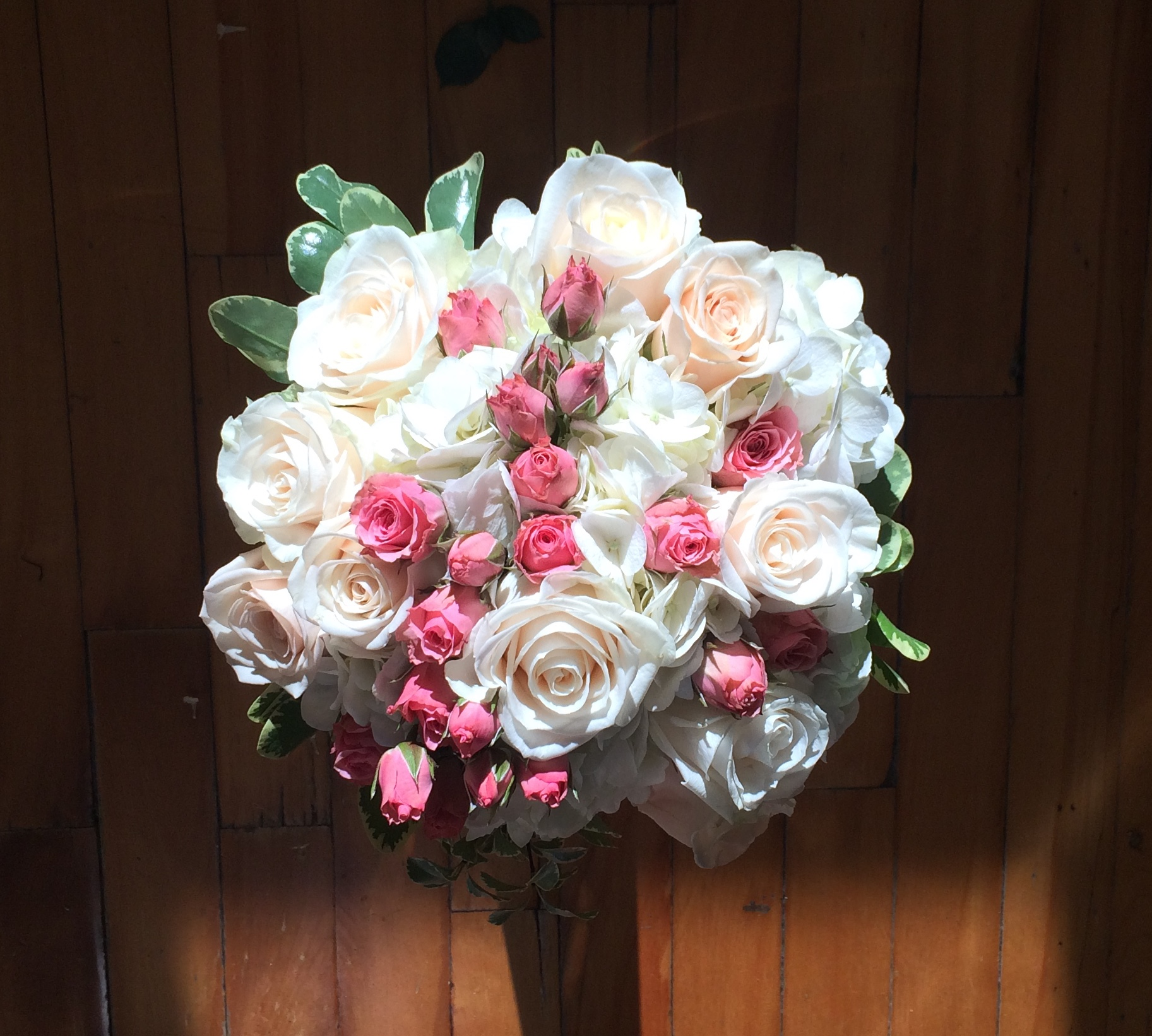 Bridal bouquet. Montreal.