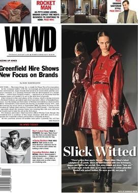 Isaiah Hemmingway Women's Wear Daily