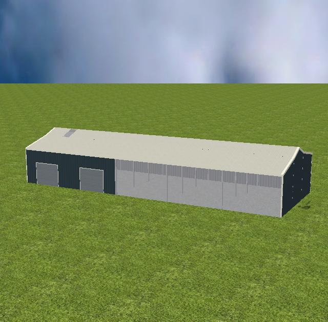 Triple Open Bay Storage