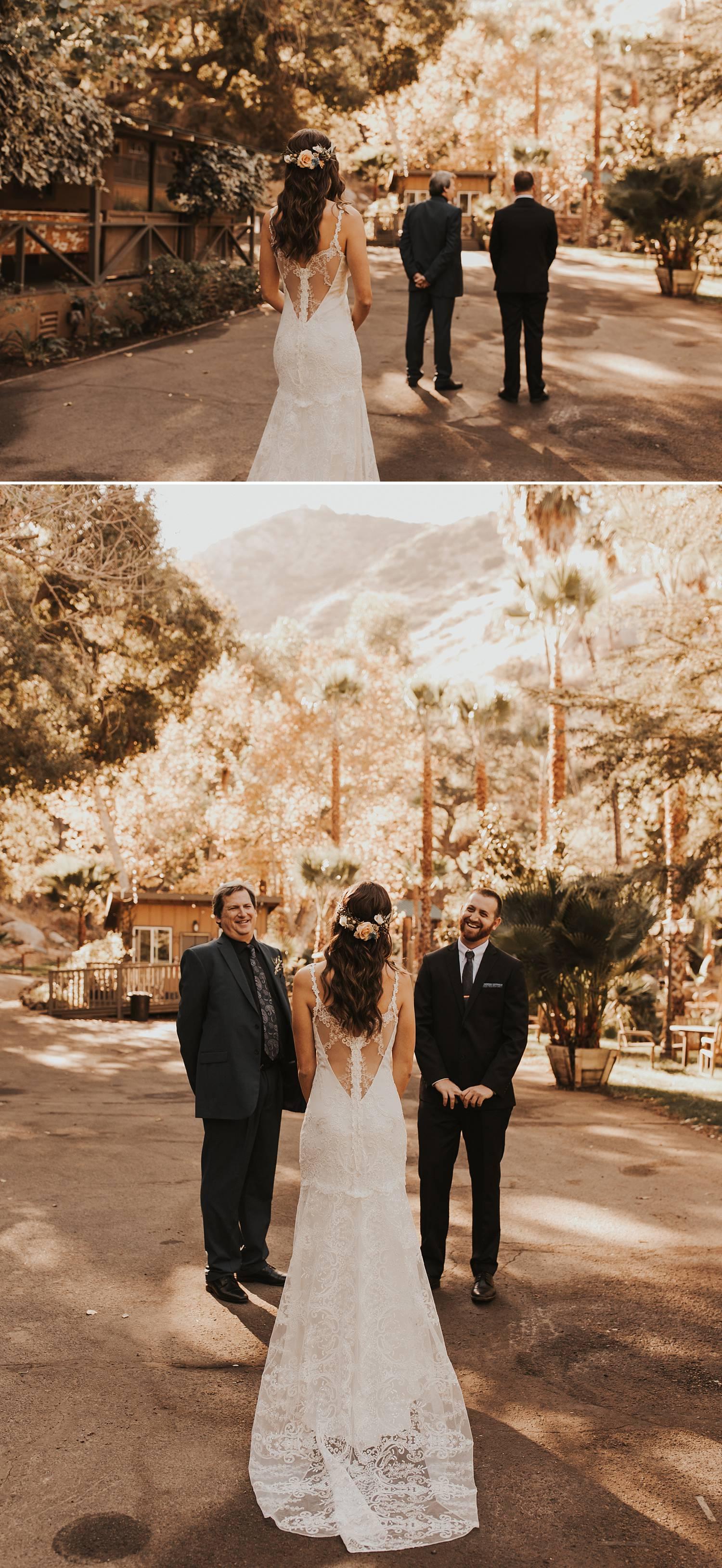 san diego wedding photographer first look