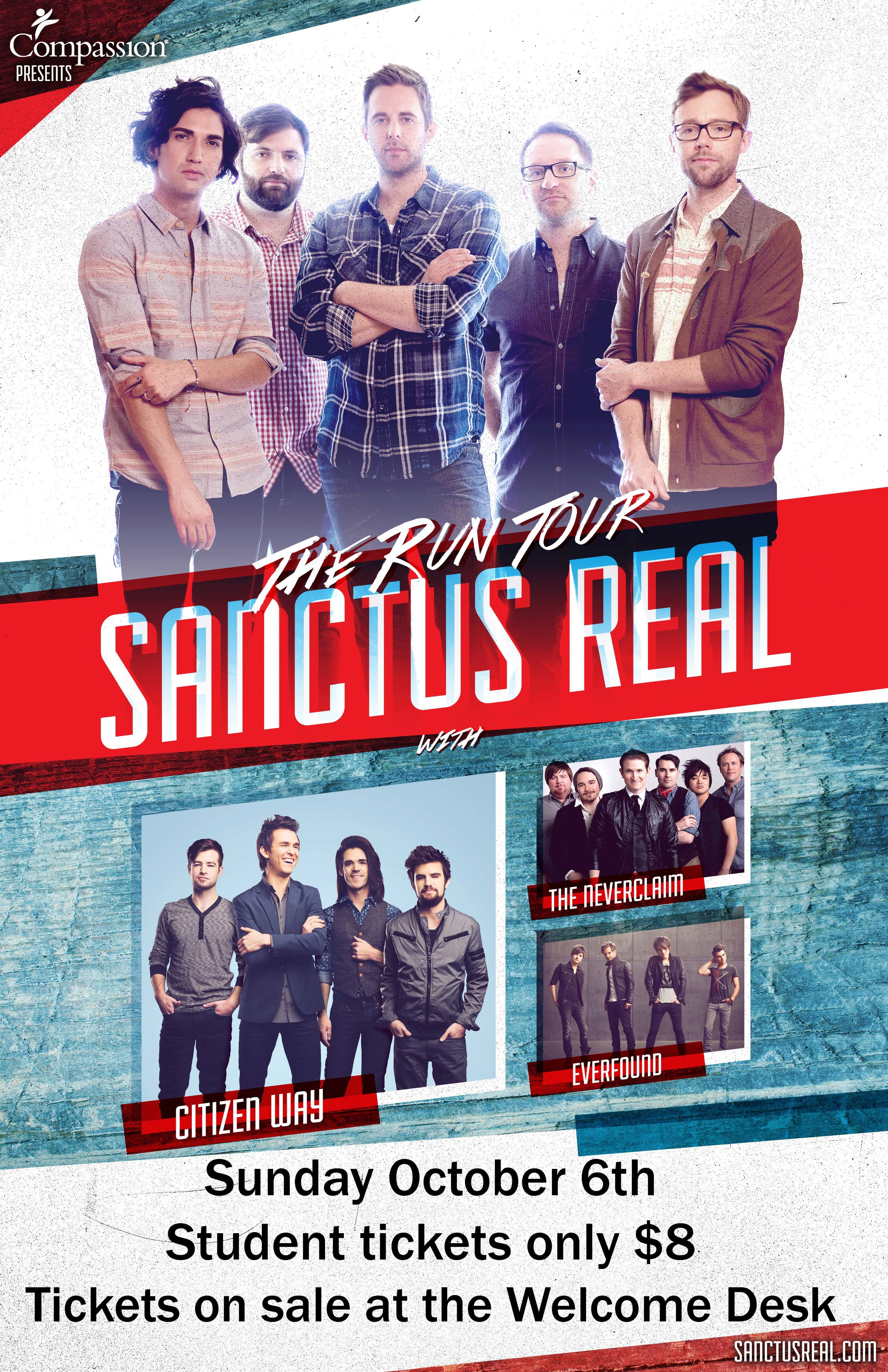 Sanctus Real in Houghton, NY