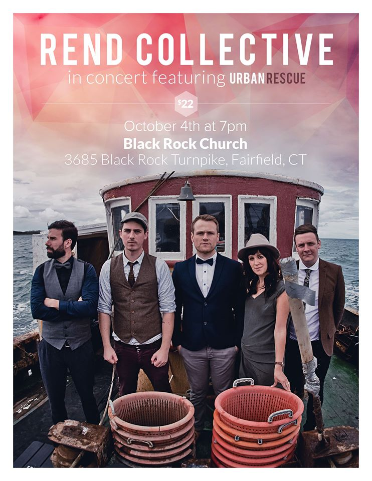 Rend Collective in Fairfield, CT