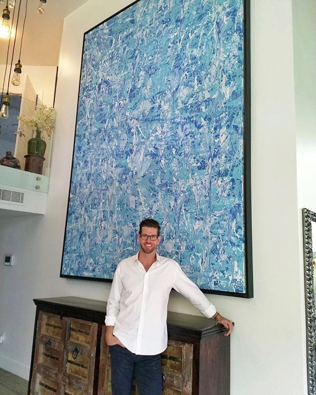 Latest in the @zumicollection #86 in the BALANCE series. One of the largest yet. Over 11 feet tall and 8 feet wide. Private collection in Miami.