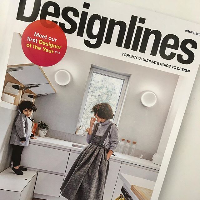 Double Whammy! 💥 Fold member @gelarehsaadatpajouh made the cover while @vfarchitect is featured in the latest issue of @designlinesmagazine ✨ looking good!