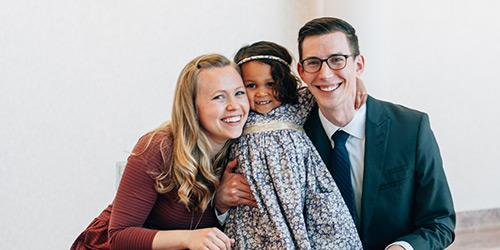 All Smiles on Adoption Day